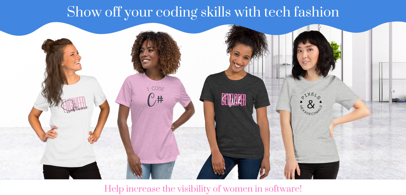 Show off your coding skills with tech fashion